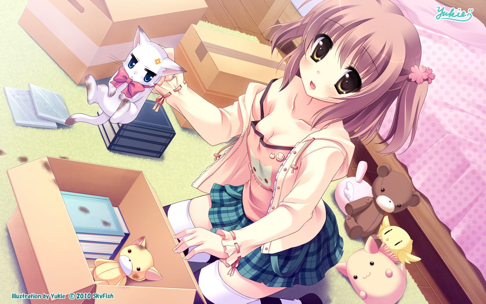 random cute girl wallpaper - photo #43